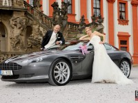 Aston Martin wedding cars