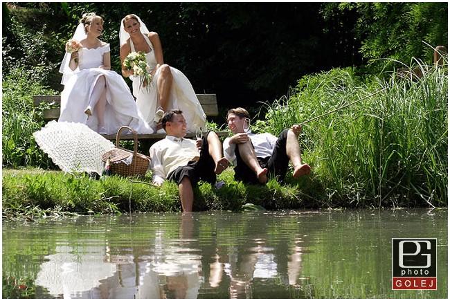 Svadba Botanicka zahrada