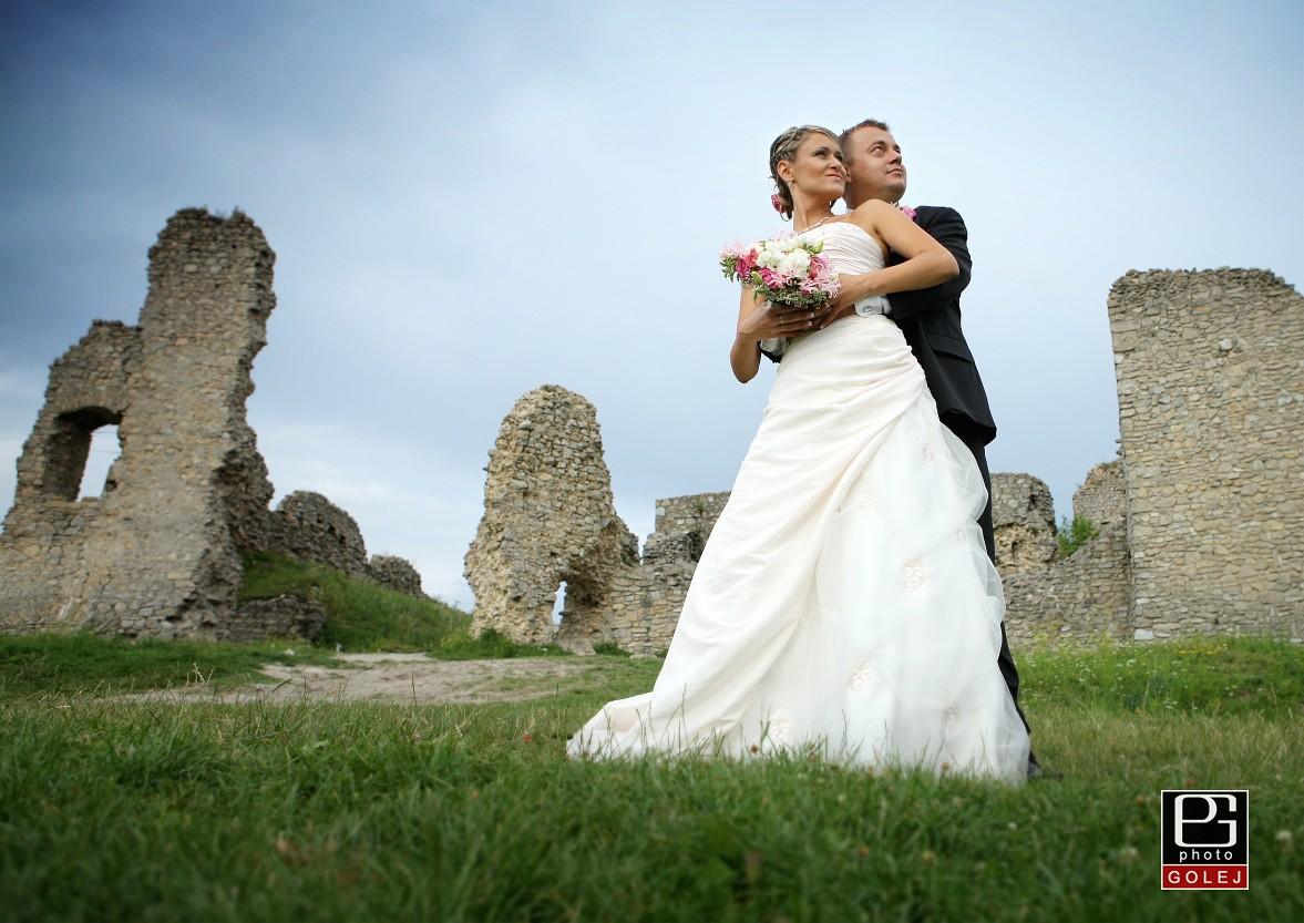 Svadba hrad Branč