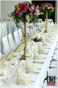 Mosadzné svadobné svietniky