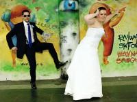 Blaznive svadobne fotenie