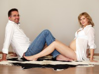 Tehotenske fotografie