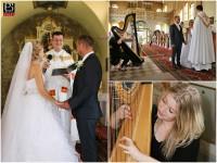 Harfistka na svadbe