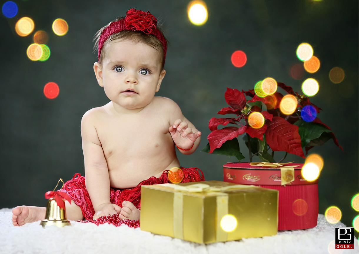 Vianocne detske fotenie