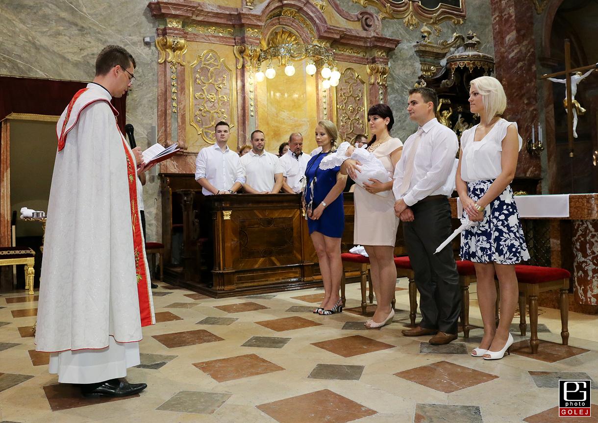 Fotenie krstu