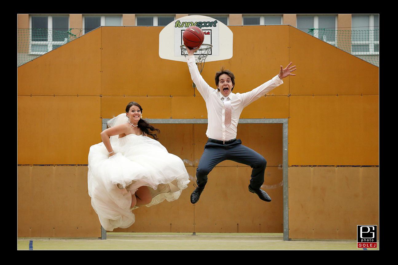 Zartovne svadobne fotky