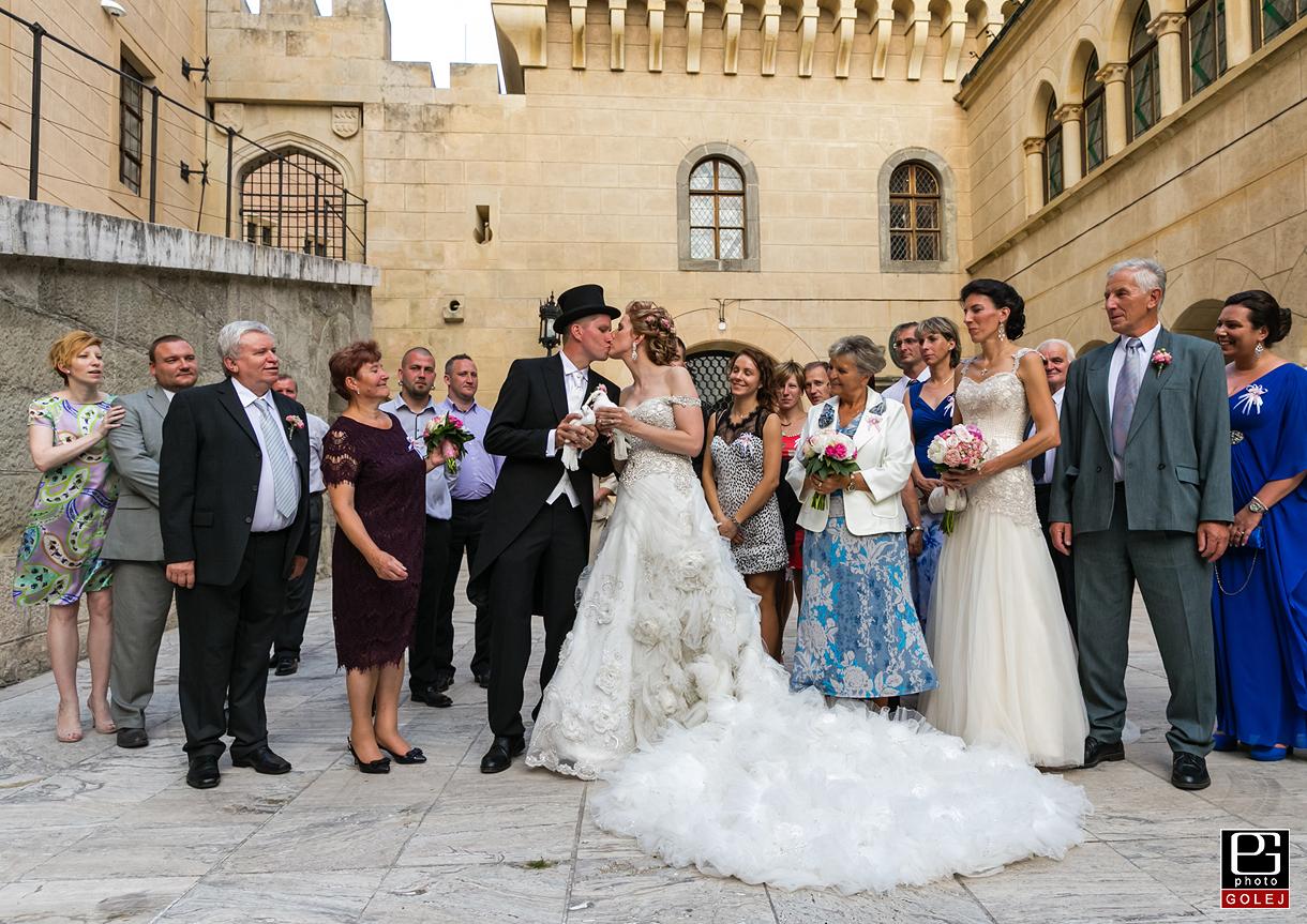 Svadobny obrad zamok Bojnice
