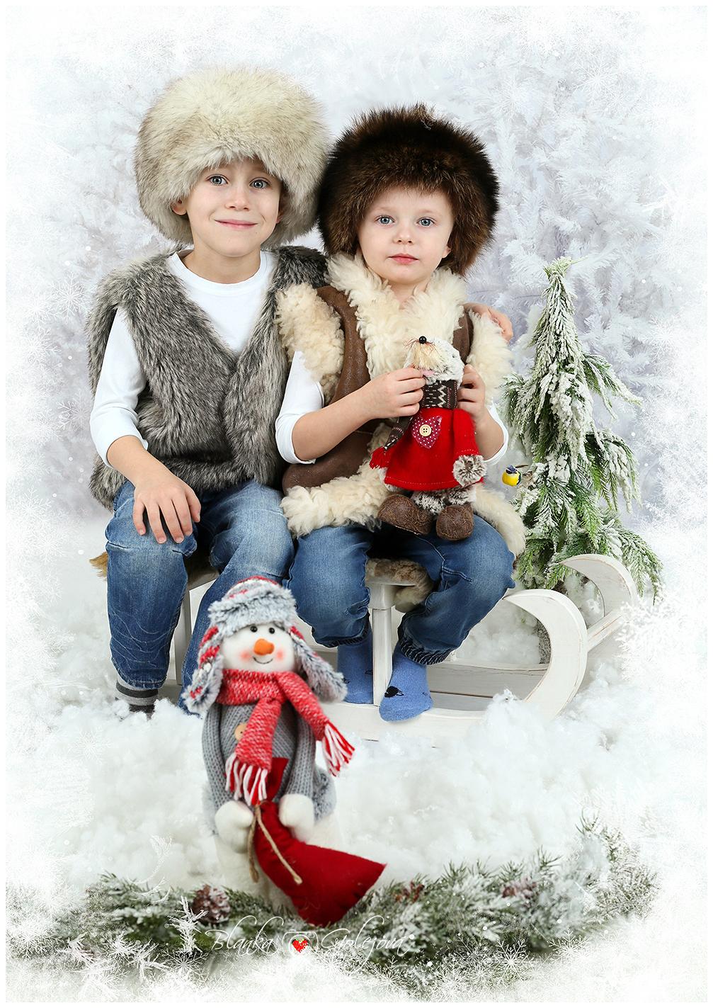 Vianočné fotenie škola