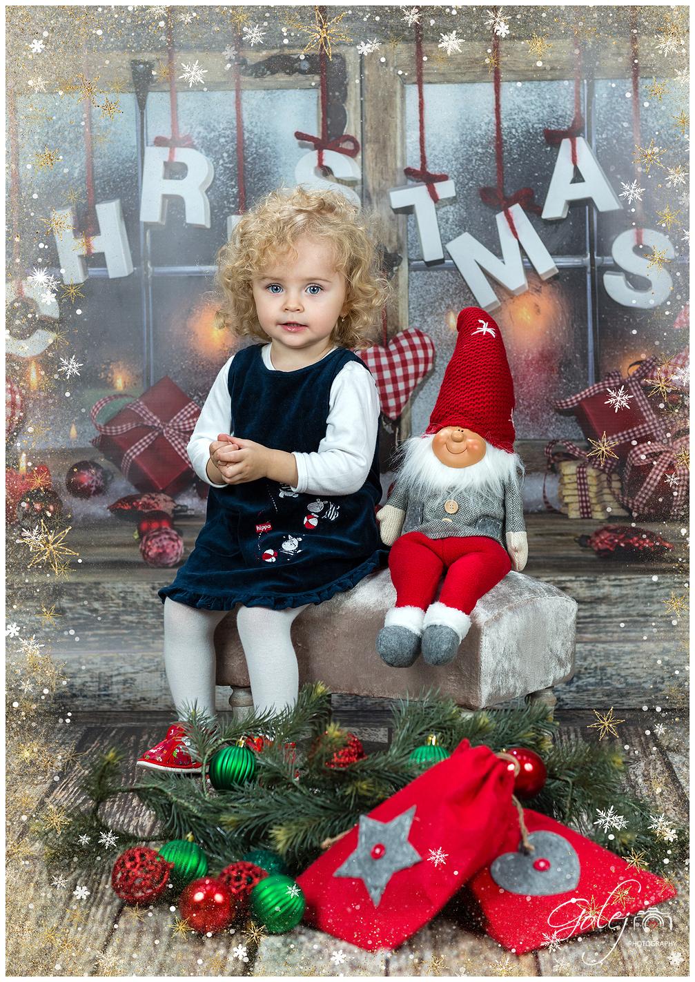 Vianočné fotenie v materskej škole