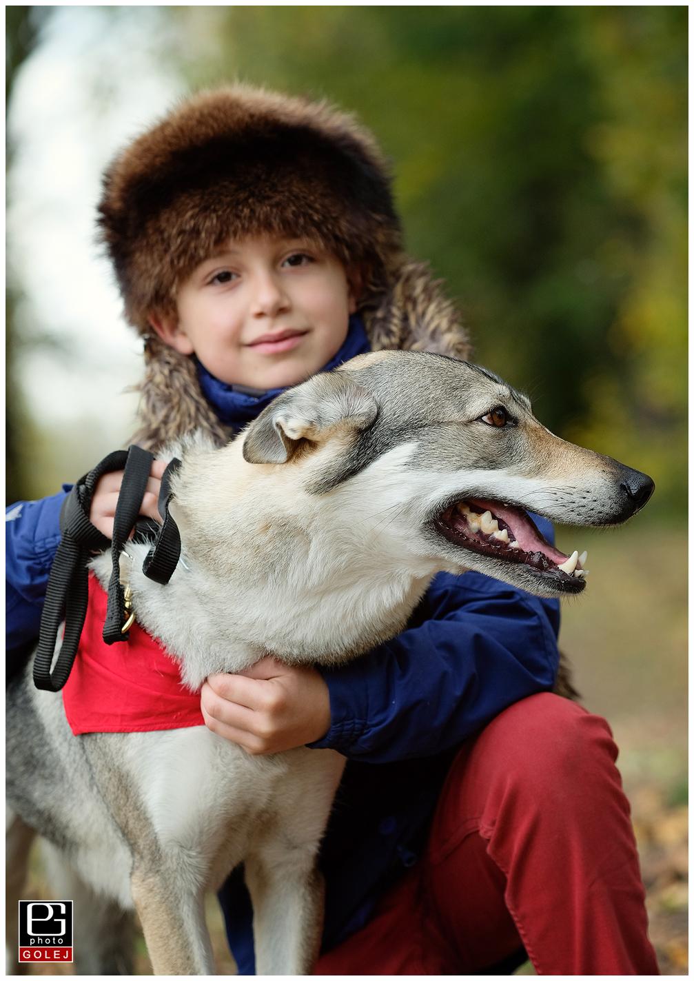 Dieťa a vlk
