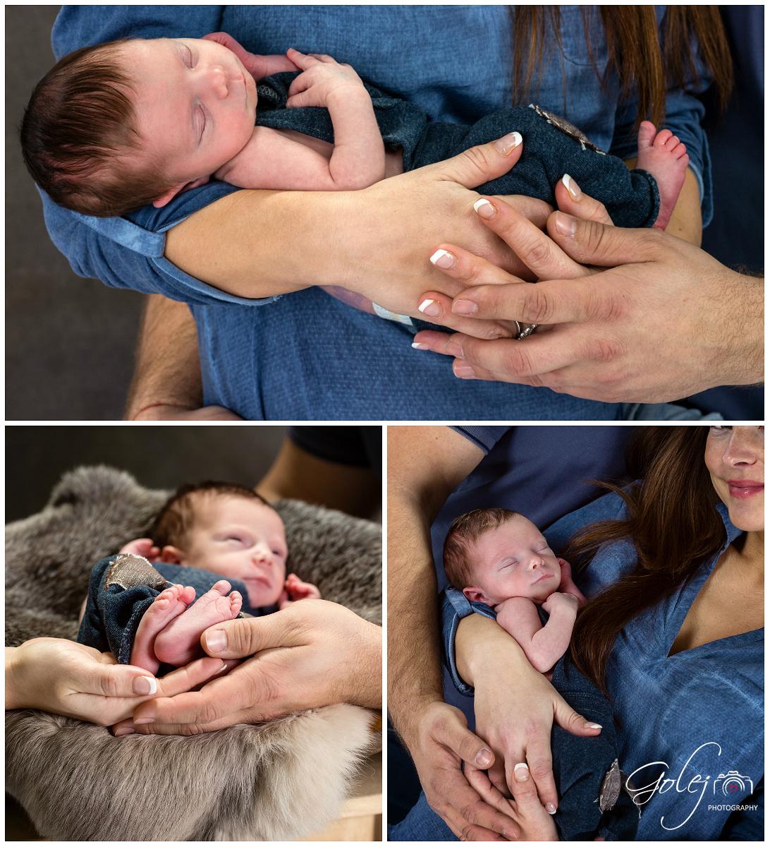 Ako fotit novorodencov