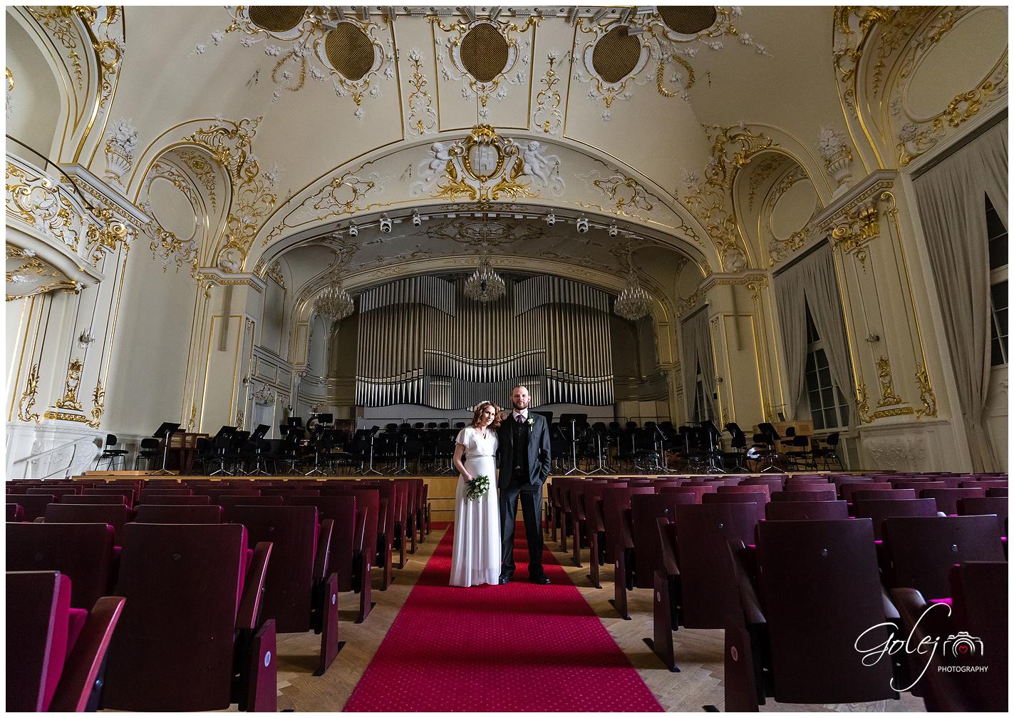 Slovenska filharmonia fotenie svadby