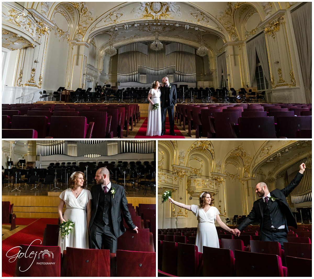 Slovenska filharmonia svadba