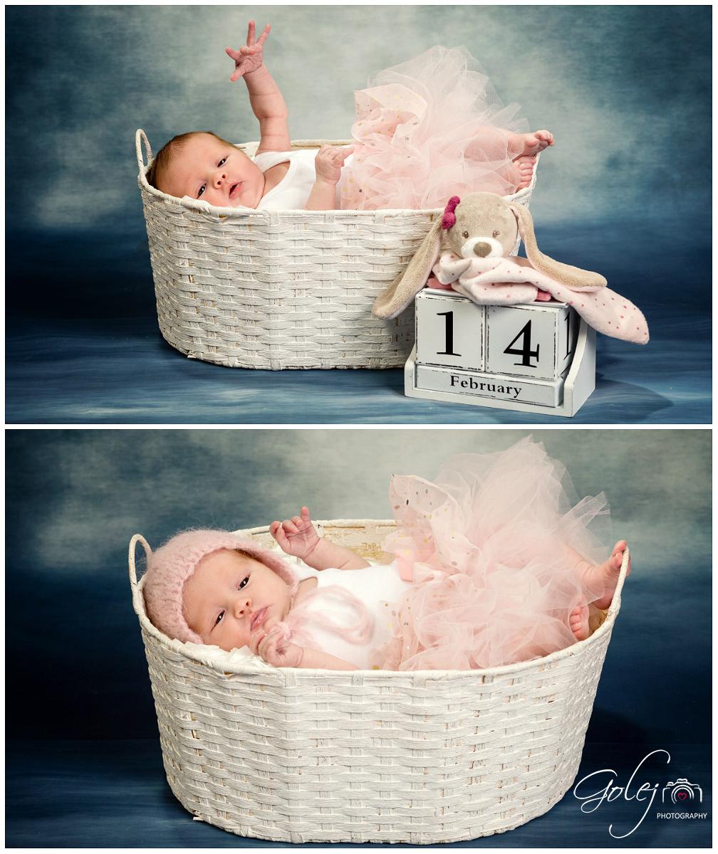 Fotky novorodencov v kosiku