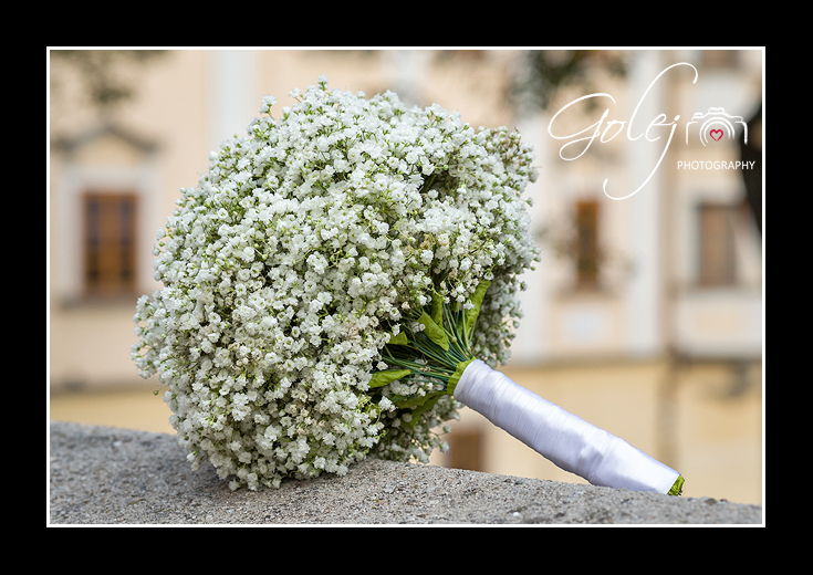 Jednoducha svadobna kytica