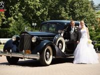 Svadobné auto pre ženícha