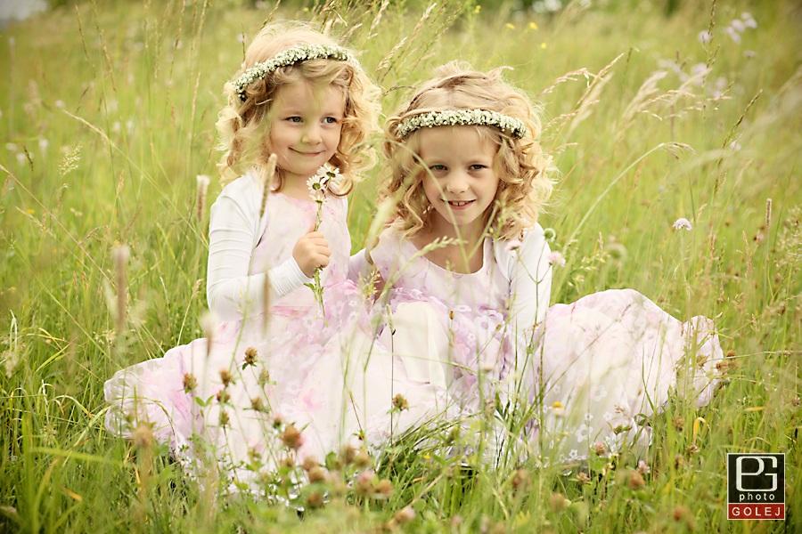 Fotografovanie detí v prírode