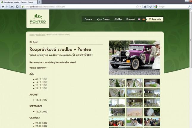 Svadba Hotel Ponteo