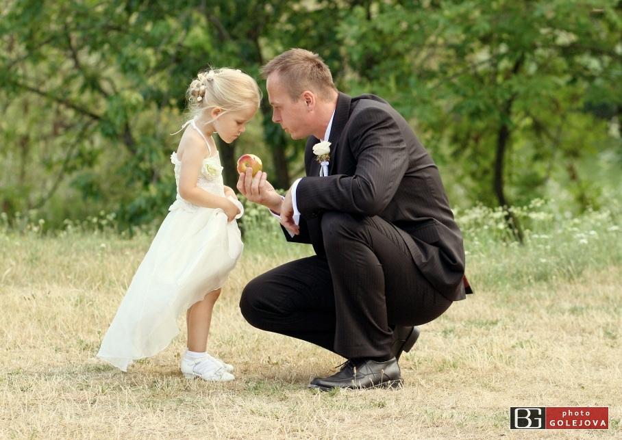 Deti - svadba