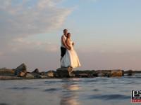 Svadobne fotky pri vode