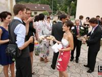 Pohostenie svadobcanov