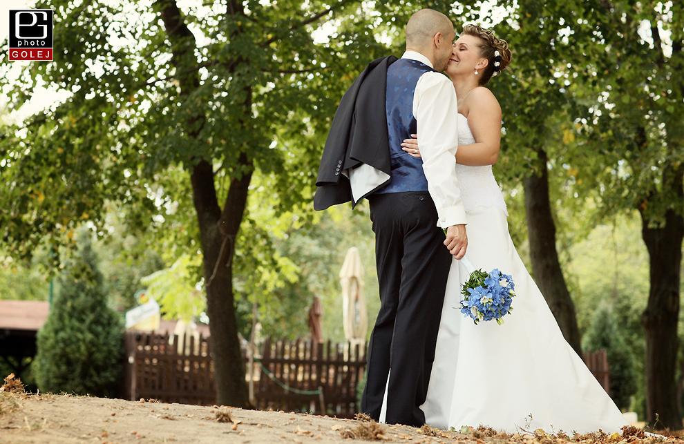 Zlate piesky svadobne fotenie