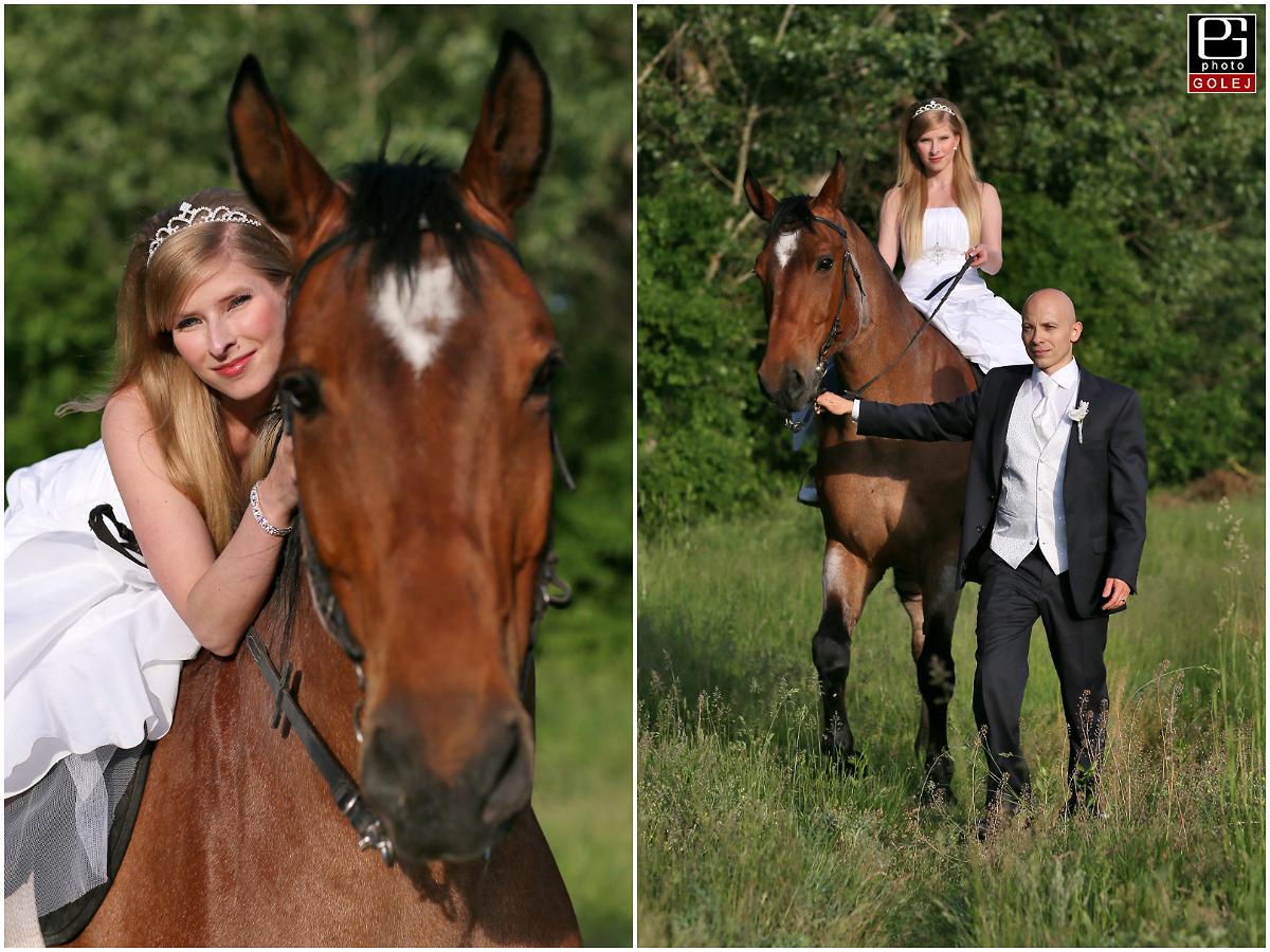 Nevesta na koni