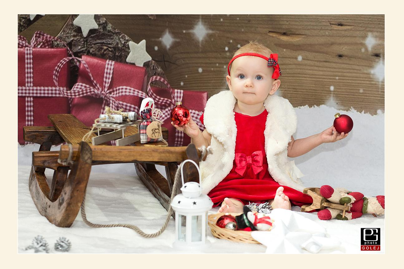Fotenie deti Vianoce