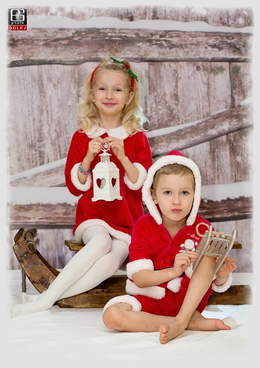 Vianoce detske fotografie