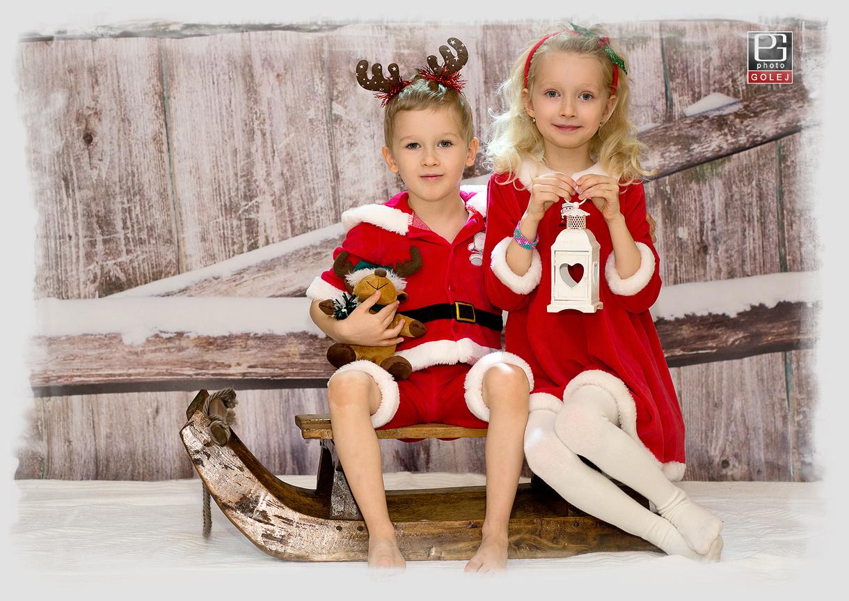 Vianocne detske fotografie