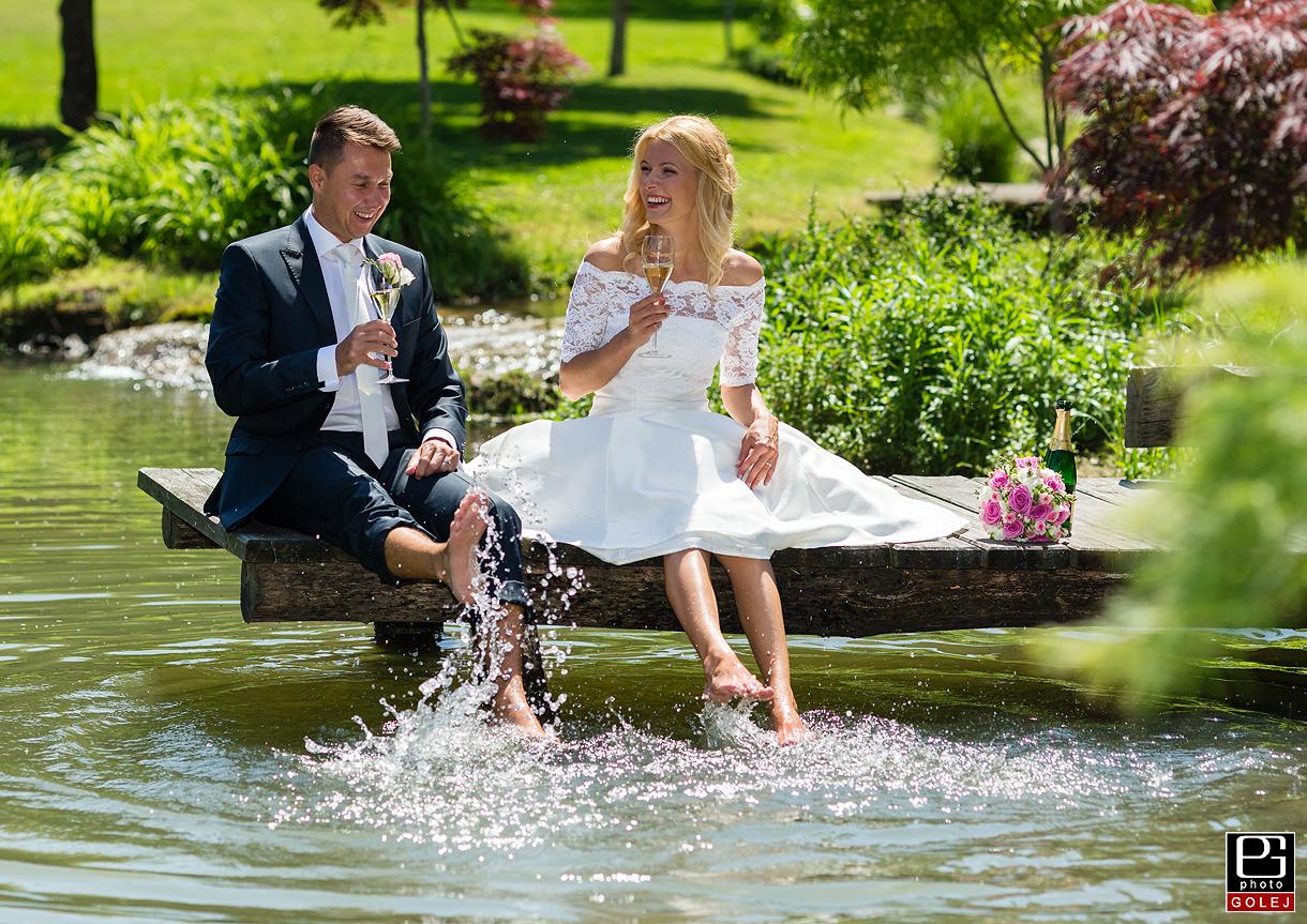 Pri mlyne svadobne fotografie