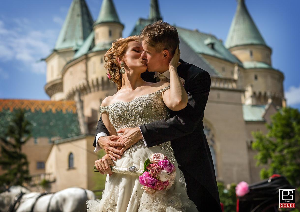 Svadba zamok Bojnice