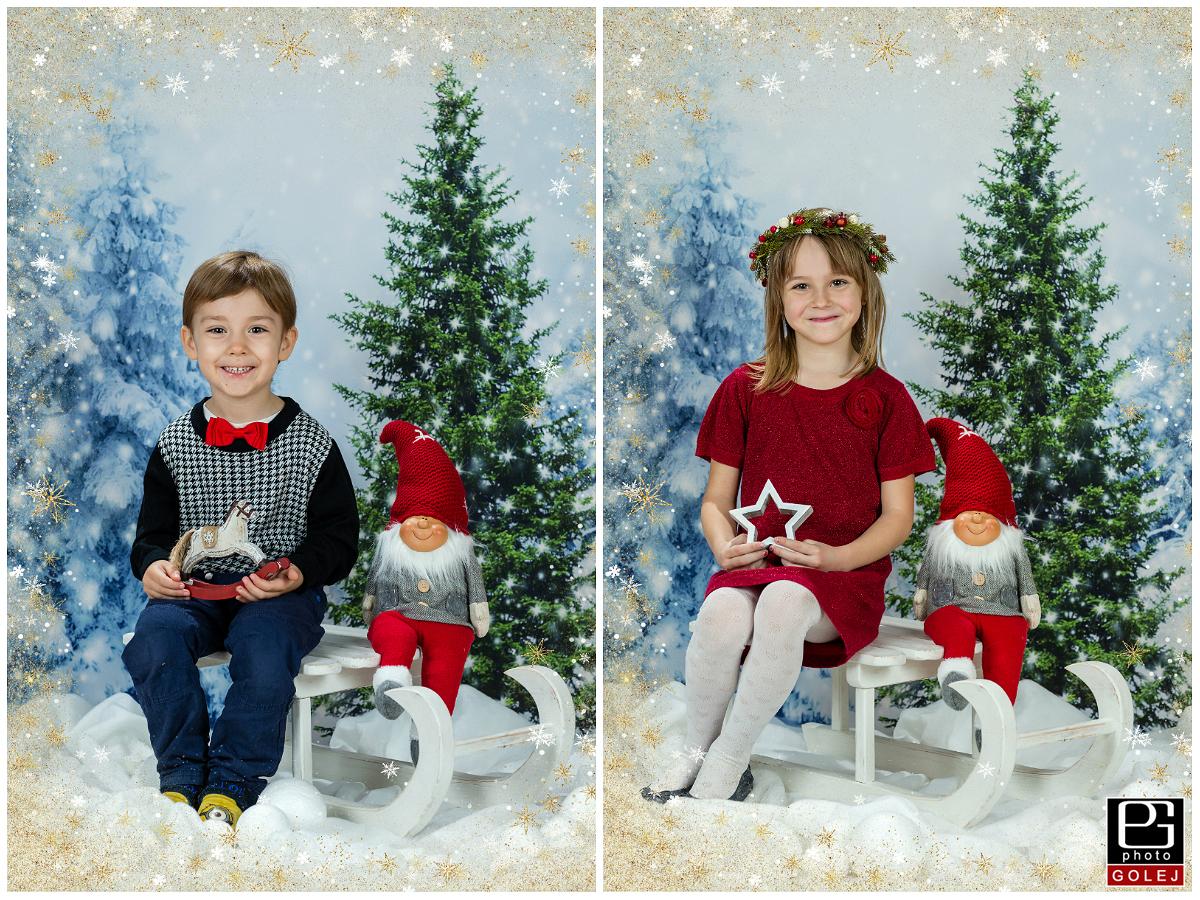 Fotenie vianočné materské školy