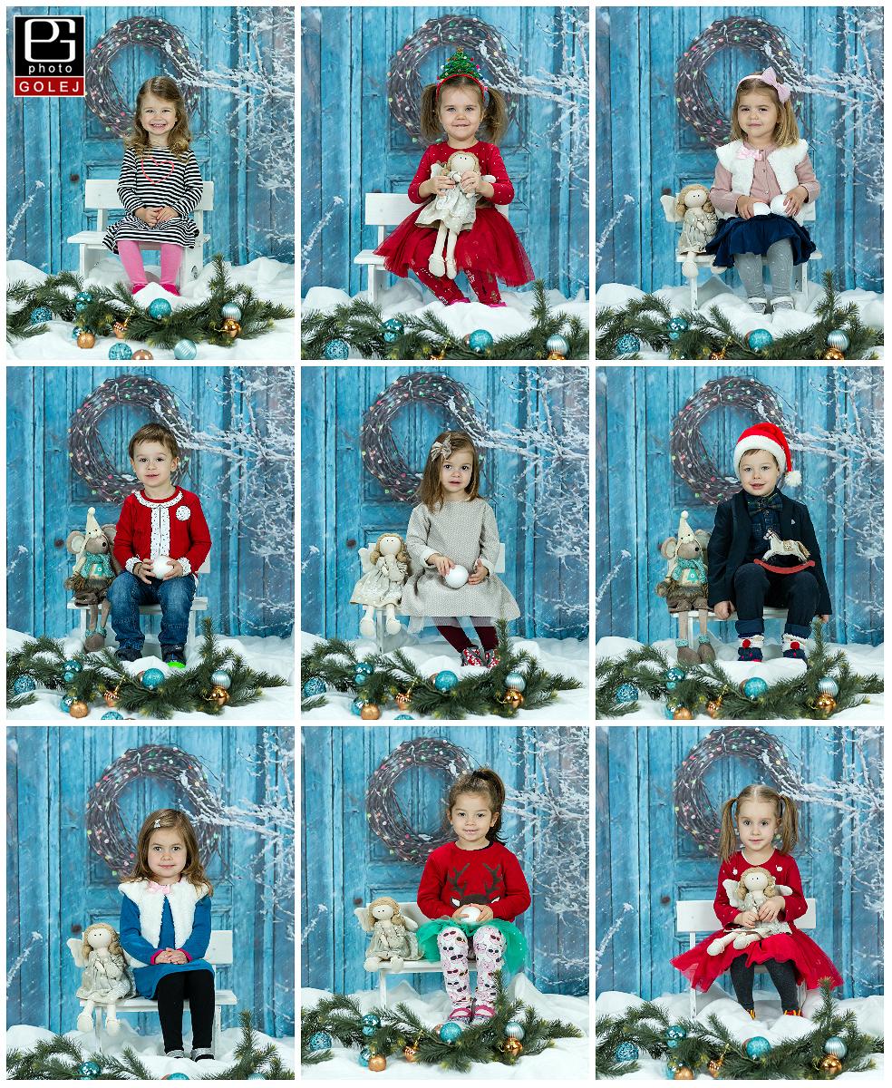Skolkari vianocne fotenie