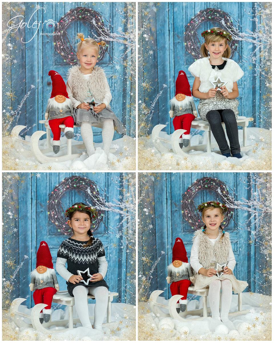 Škôlkárske Vianočné fotenie