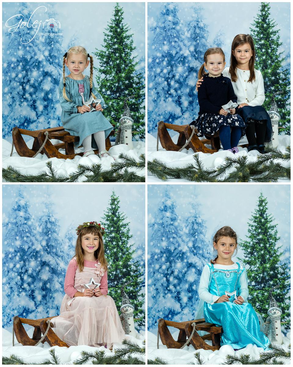 Vianočné fotky v materskej škole