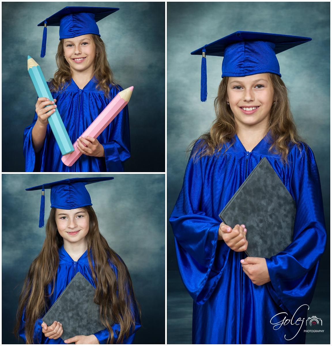 Detske absolventske fotky