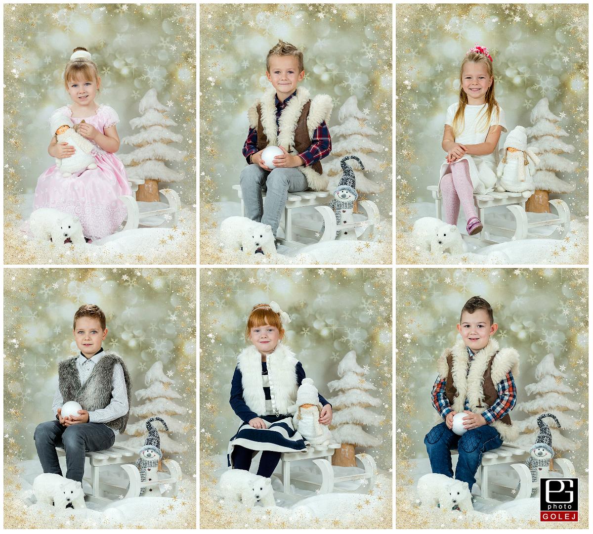 Školkárske vianočné fotky