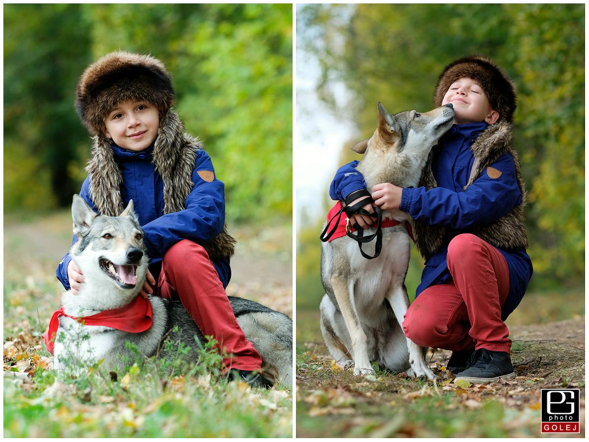 Vlk a chlapec