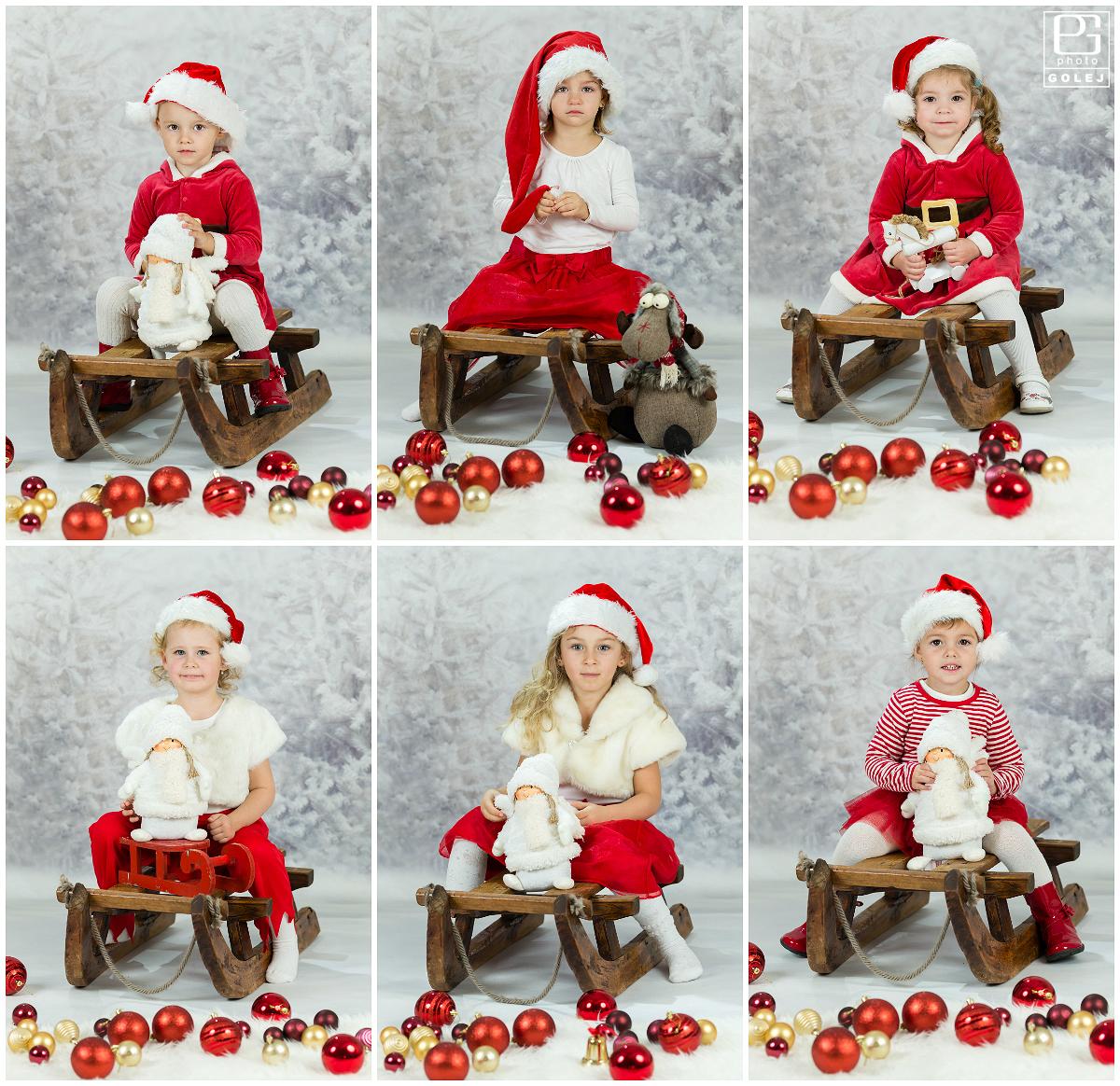 Vianočné fotenie materská školka