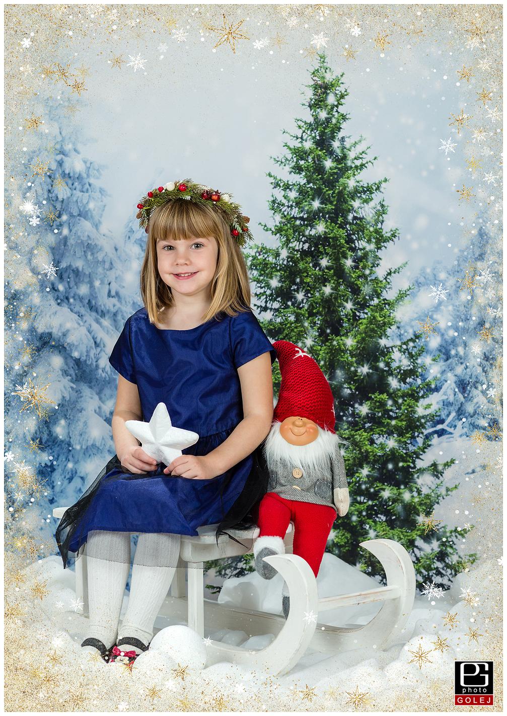 Vianočné fotenie škôlky