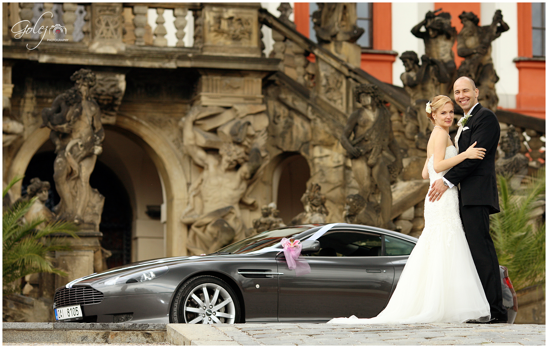 Aston Martin na svadbe