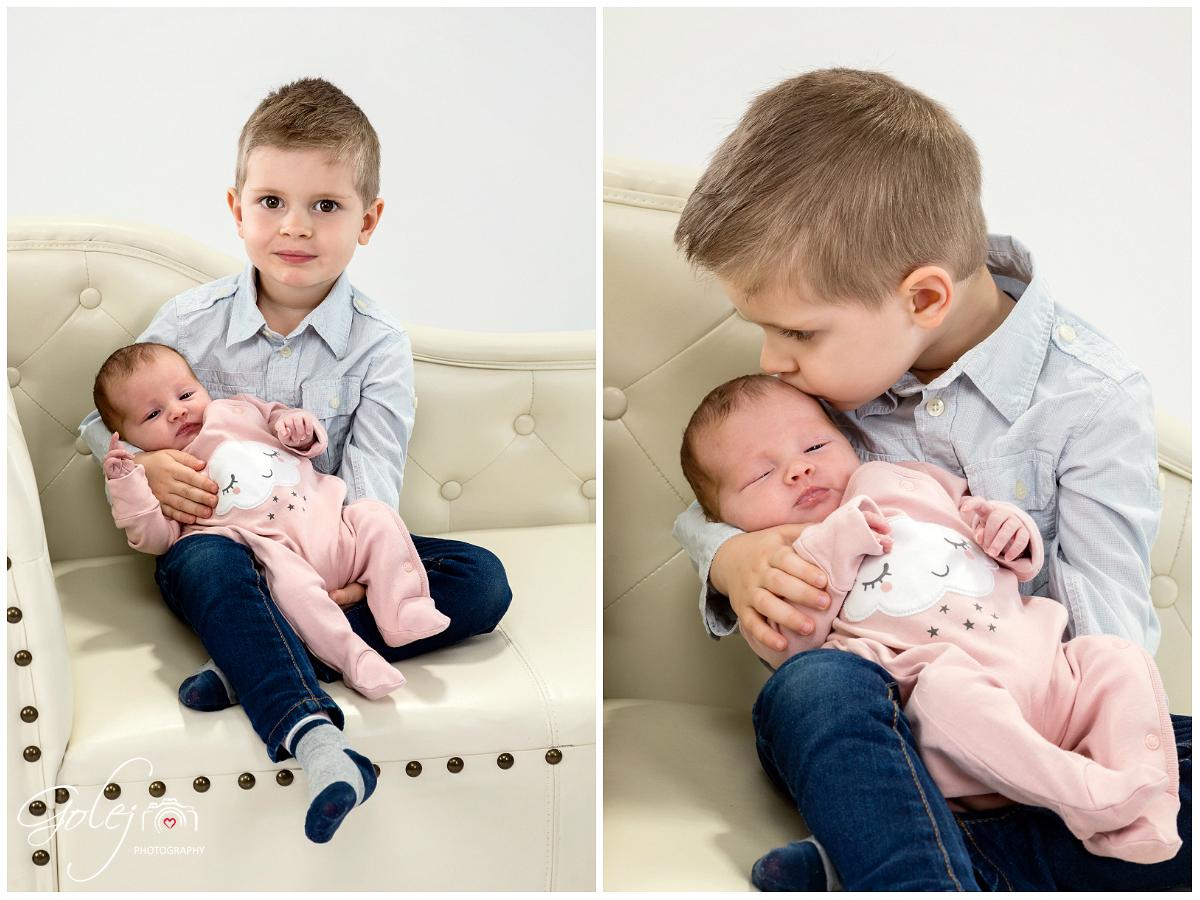 Bratcek s malou sestrickou