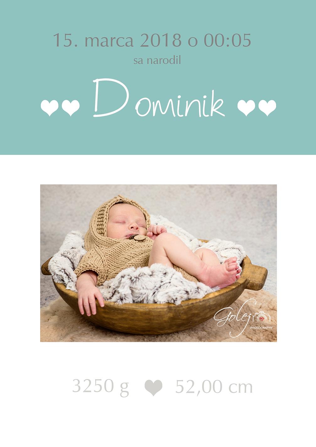 Novorodenecka karticka