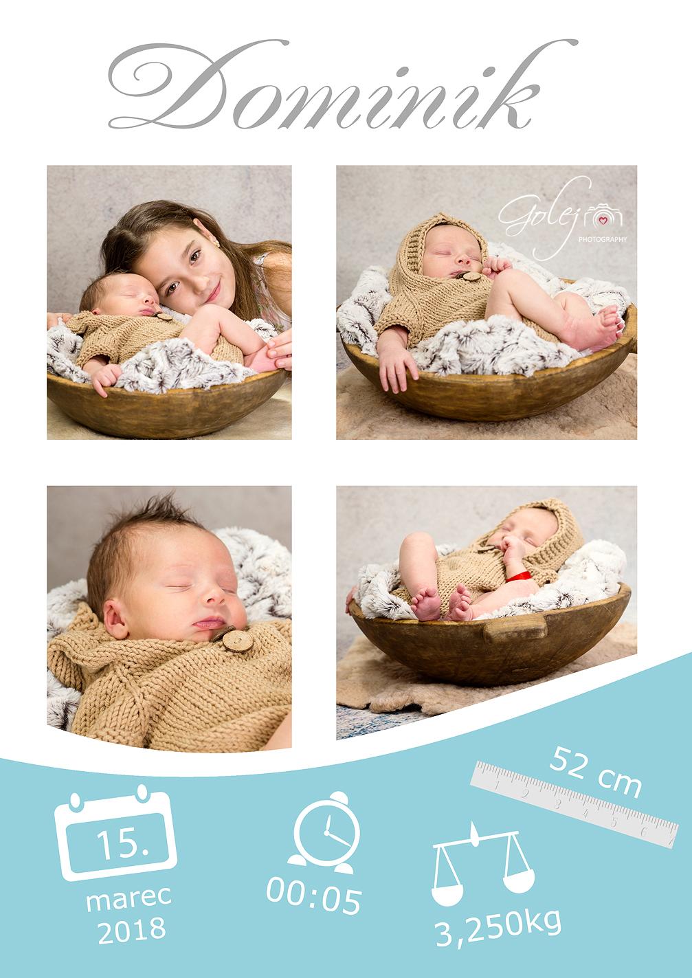 Novorodenecke karty