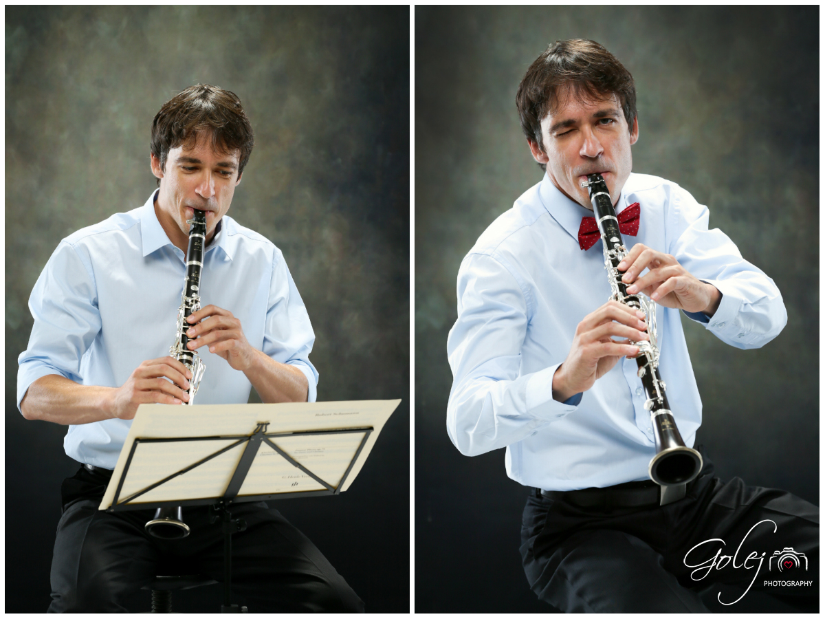 Hra na klarinet