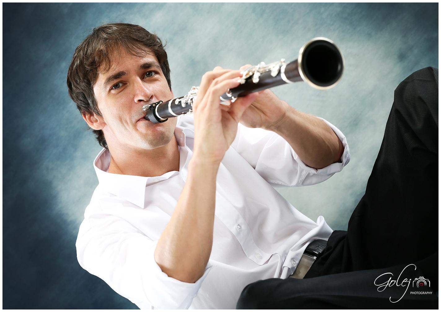 Hrac na klarinet