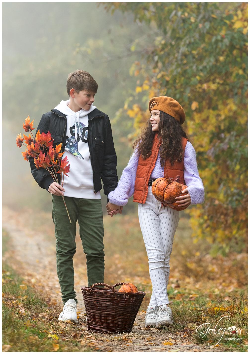 Fotenie na jesen