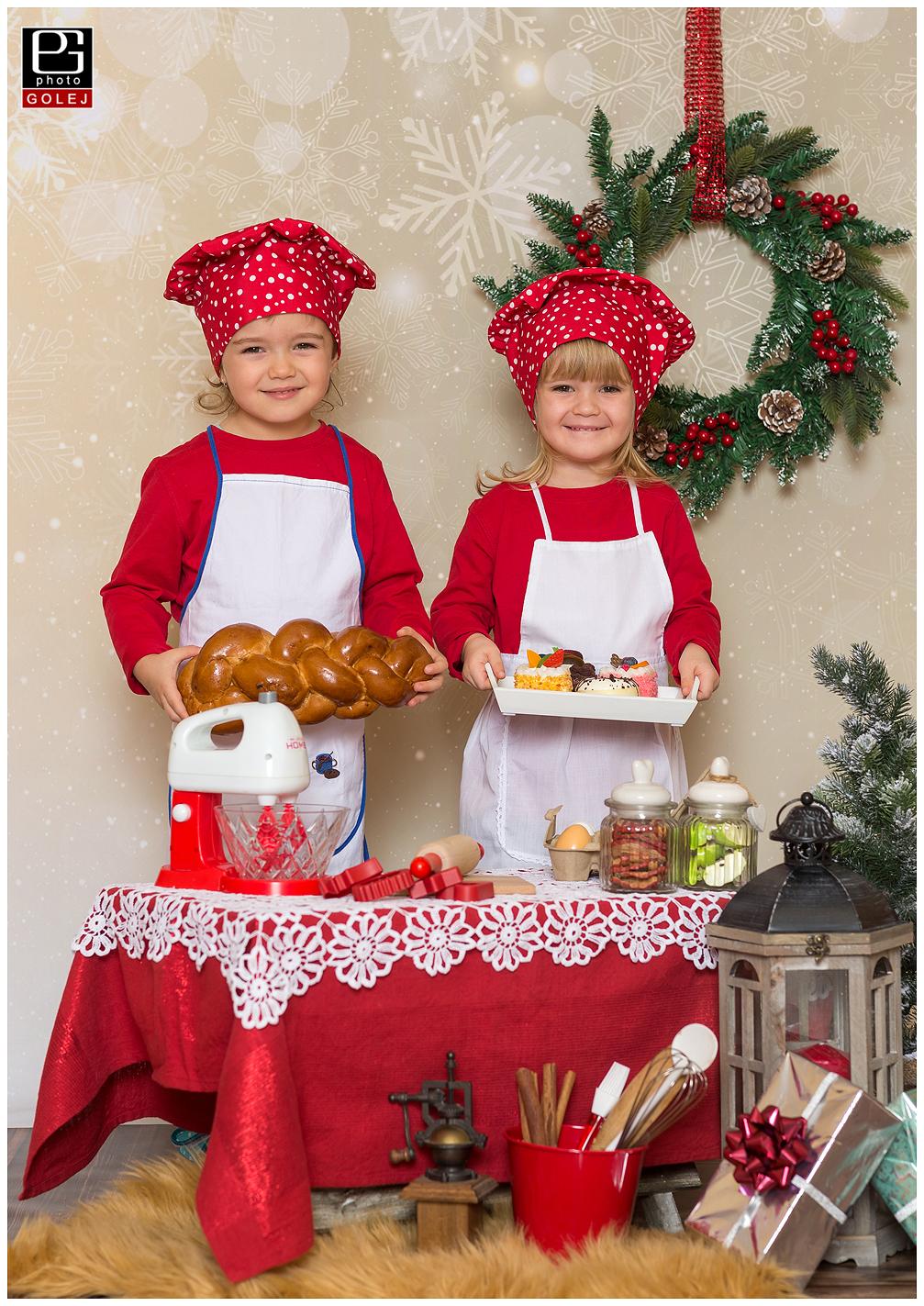 Fotenie s tematikou vianocneho pecenia