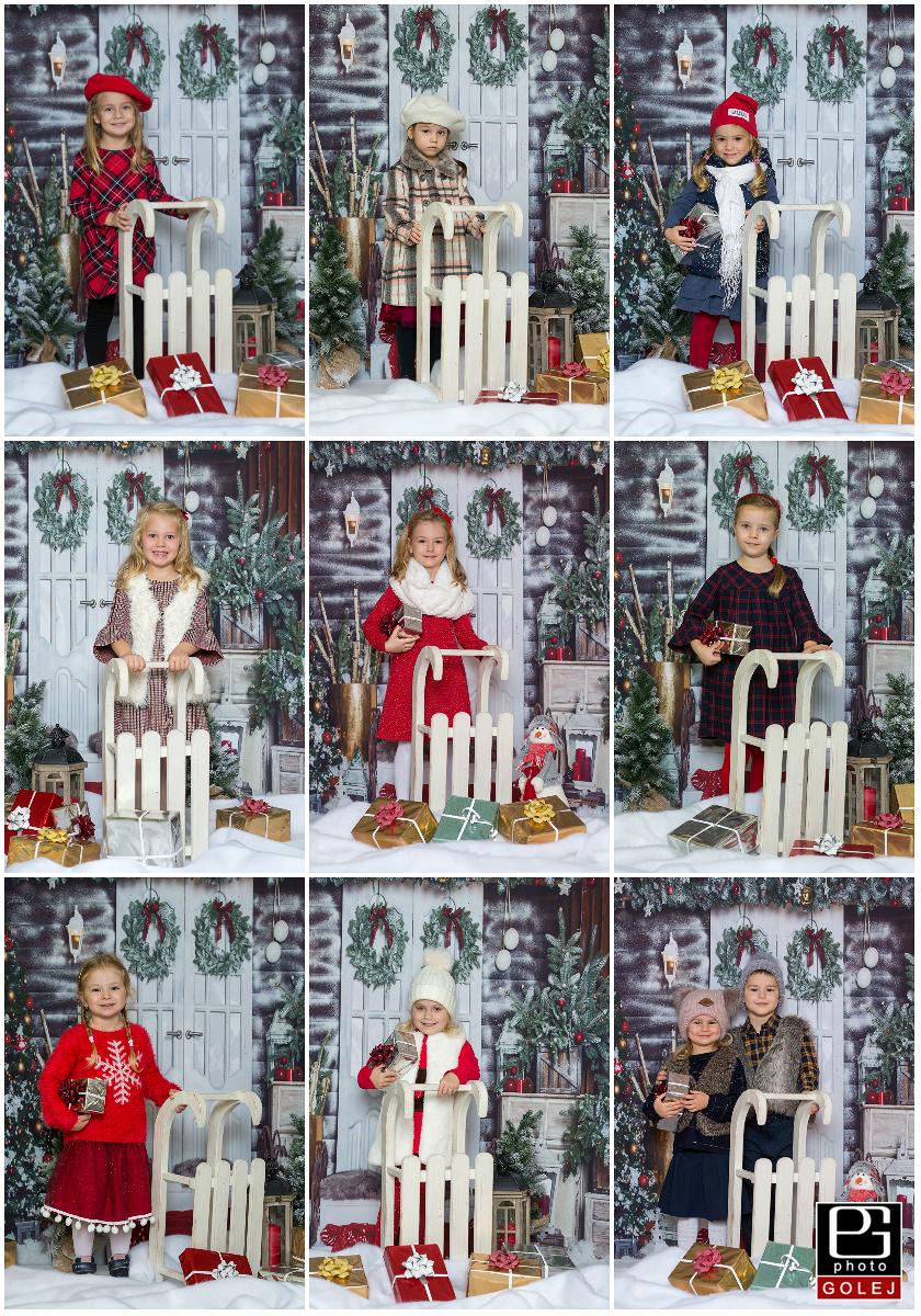 Oblecenie na vianocne fotenie